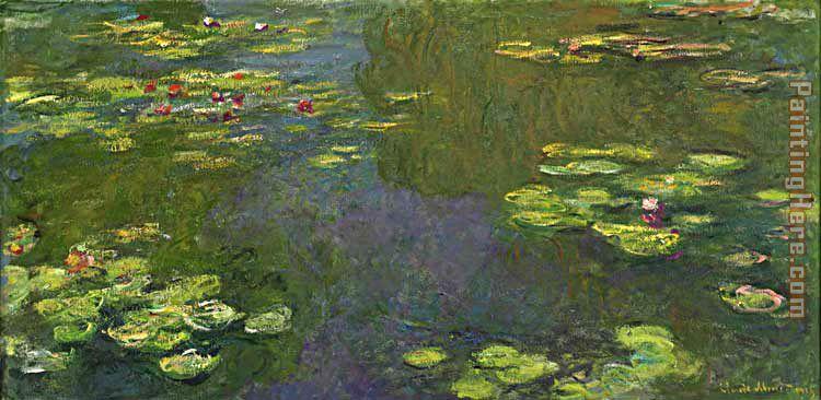 Claude monet le bassin aux nympheas painting anysize 50 off le bassin aux - Le bassin aux nympheas ...