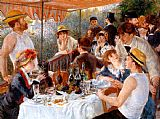 Pierre Auguste Renoir - The Boating Party Lunch I