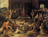 Allegory on the Abdication of Emperor Charles V in Brussels, 25 October 1555