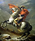Napoleon at the St. Bernard Pass by Jacques-Louis David