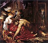 Samson and Delilah by Peter Paul Rubens